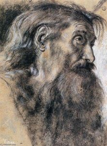 Giovanni Girolamo Savoldo - Head of St Jerome