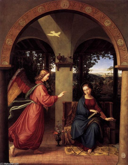 Julius Schnorr Von Carolsfeld Drawings Annunciation