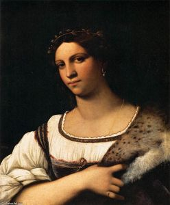 Sebastiano Del Piombo - Portrait of a Woman