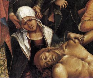 Luca Signorelli - Lamentation over the Dead Christ (detail)