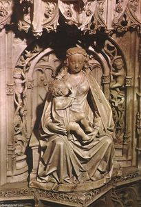 Gil De Siloe - Tomb of Juan II of Castile and Isabel of Portugal (detail)