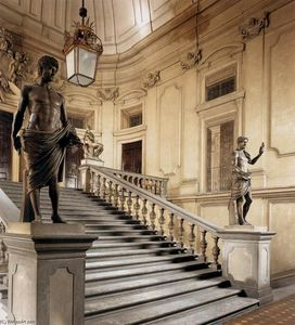 Pier Francesco Silvani - View of the Great Staircase