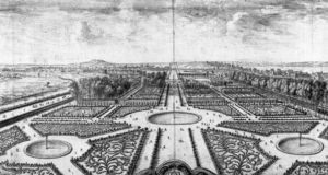 Israël Silvestre - View of the Tuileries Gardens