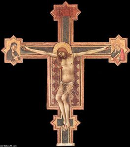 Simone Martini - Crucifix