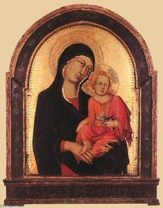Simone Martini - Madonna and Child