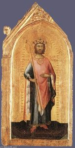 Simone Martini - St Ladislaus, King of Hungary
