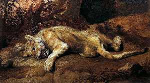 Frans Snyders - The Lioness