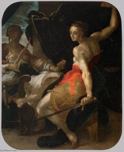 Bartholomeus Spranger - Allegory of Justice and Prudence
