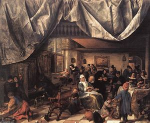 Jan Steen - The Life of Man