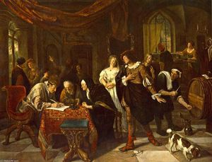 Jan Steen - The Marriage