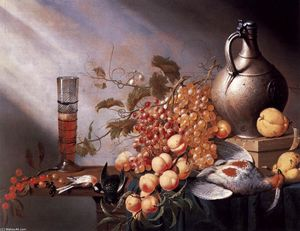 Harmen Steenwijck - Still-Life of Fruit and Dead Fowl