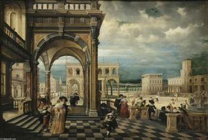Hendrick Van The Younger Steenwyck - Italian Palace