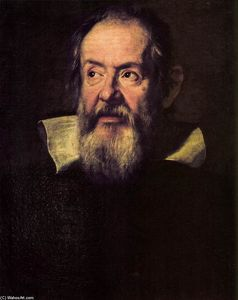 Justus Sustermans - Portrait of Galileo Galilei