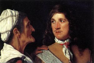 Michiel Sweerts - Young Man and the Procuress