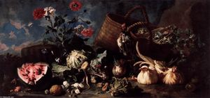 Franz Werner Von Tamm - Flowers, Fruit, and Poultry