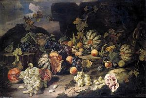 Franz Werner Von Tamm - Still-Life of Fruit