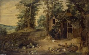 David The Younger Teniers - Landscape