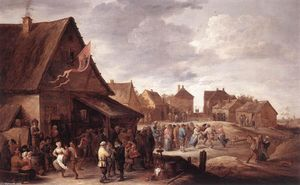 David The Younger Teniers - Village Feast