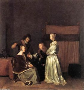 Gerard Ter Borch - The Visit