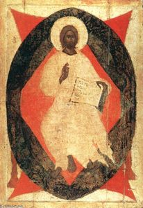 Theophanes The Greek - Icon from the Deësis Tier (11)
