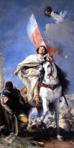 Giovanni Battista Tiepolo - St James the Greater Conquering the Moors