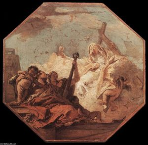 Giovanni Battista Tiepolo - The Theological Virtues