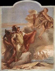 Giovanni Battista Tiepolo - Venus Appearing to Aeneas on the Shores of Carthage