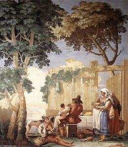 Giovanni Domenico Tiepolo - Family Meal