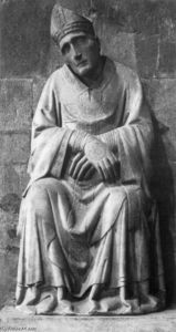 Tino Di Camaino - Monument of Bishop Antonio degli Orsi (detail)