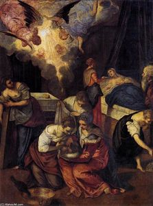 Tintoretto (Jacopo Comin) - Birth of St John the Baptist