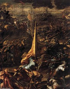Tintoretto (Jacopo Comin) - Conquest of Zara
