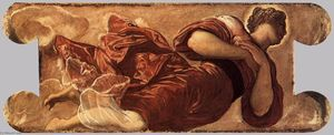 Tintoretto (Jacopo Comin) - Female figure