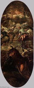 Tintoretto (Jacopo Comin) - Jacob's Ladder