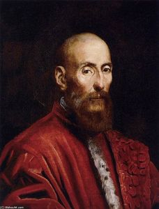 Tintoretto (Jacopo Comin) - Portrait of a Senator
