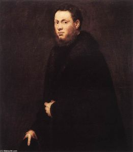 Tintoretto (Jacopo Comin) - Portrait of a Young Gentleman