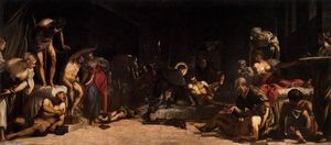 Tintoretto (Jacopo Comin) - St Roch in the Hospital