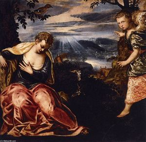 Tintoretto (Jacopo Comin) - The Annunciation to Manoah's Wife