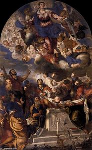 Tintoretto (Jacopo Comin) - The Assumption