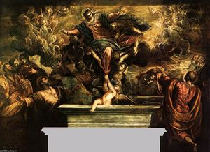 Tintoretto (Jacopo Comin) - The Assumption of the Virgin
