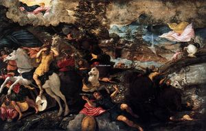 Tintoretto (Jacopo Comin) - The Conversion of Saul