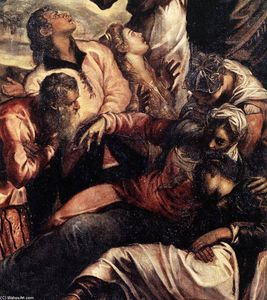 Tintoretto (Jacopo Comin) - The Crucifixion (detail) (11)