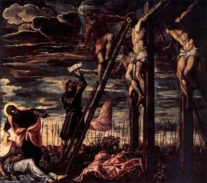 Tintoretto (Jacopo Comin) - The Crucifixion of Christ