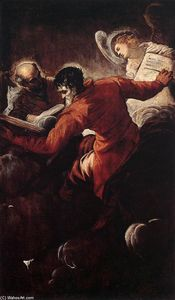 Tintoretto (Jacopo Comin) - The Evangelists Luke and Matthew