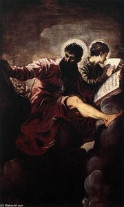 Tintoretto (Jacopo Comin) - The Evangelists Mark and John