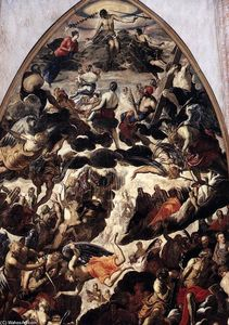 Tintoretto (Jacopo Comin) - The Last Judgment (detail)