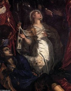 Tintoretto (Jacopo Comin) - The Miracle of St Agnes (detail)