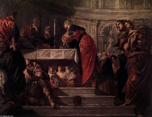 Tintoretto (Jacopo Comin) - The Presentation of Christ in the Temple