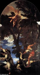 Tiziano Vecellio (Titian) - The Death of St Peter Martyr
