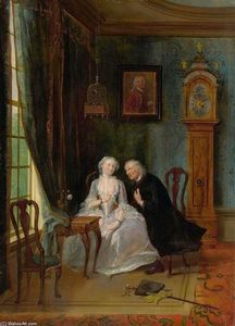 Cornelis Troost - Love Scene