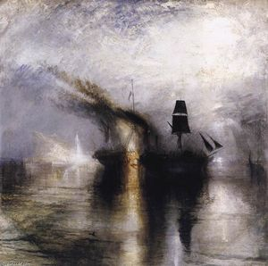 William Turner - Peace - Burial at Sea